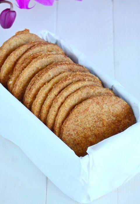 galletas de espelta sin azucar