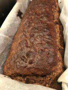 pancake de platano con coco y chocolate sin harina sin azucar y sin grasa