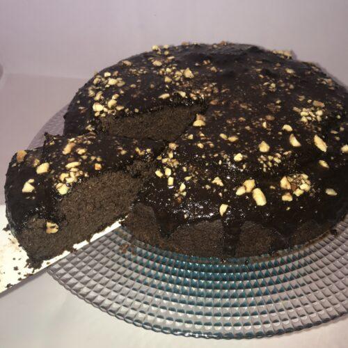 brownie de alubia sin harina, sin azucar, saludable