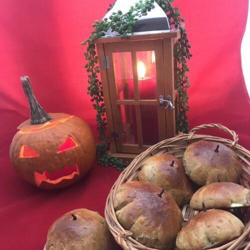 collitos de calabaza para halloween