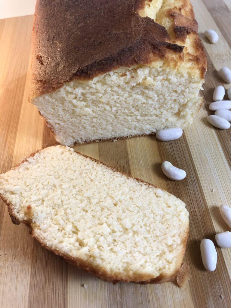 bizcocho de alubias blancas, receta rapido y facil, sin gluten