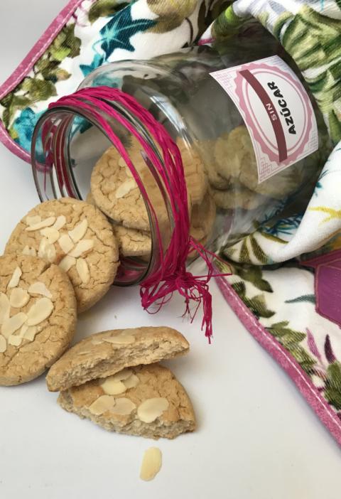 galletas de alubias blancas, judias, dulce saludable, casero, sin azucar, sin gluten